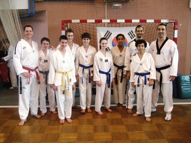 Le club de Taekwondo de Sarreguemines - Lorraine: Stage avec Mikael Meloul