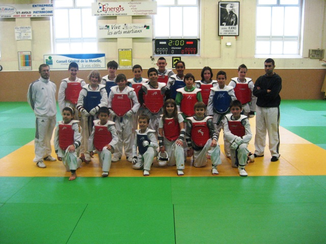 Le club de Taekwondo de Sarreguemines - Lorraine: C.F.E. à Saint-Avold