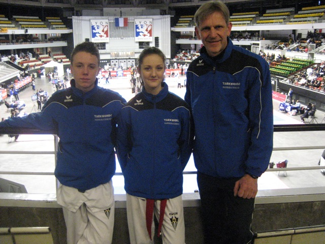 Le club de Taekwondo de Sarreguemines - Lorraine: Championnats de France Juniors