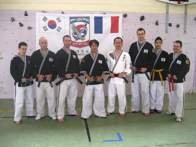 Le club de HAPKIDO de Sarreguemines - Lorraine: Stage avec Maître LEE Kang Jong