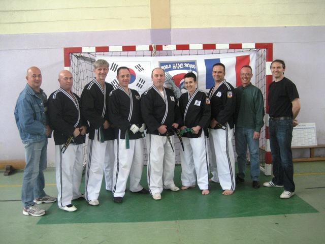 Le club de HAPKIDO de Sarreguemines - Lorraine: Instructeur et coordinateur
