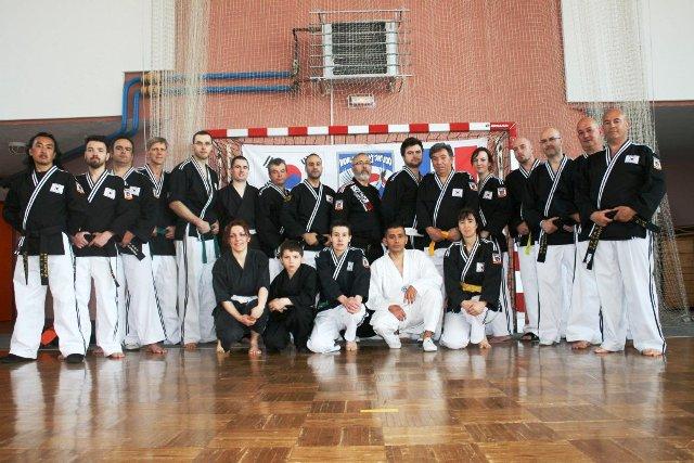 Le club de HAPKIDO de Sarreguemines - Lorraine: Journée d'entraînement