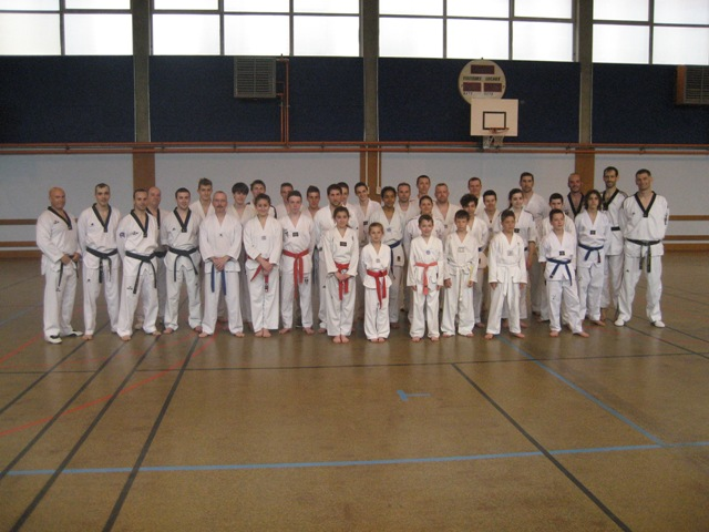 Le club de Taekwondo de Sarreguemines - Lorraine: Stage technique