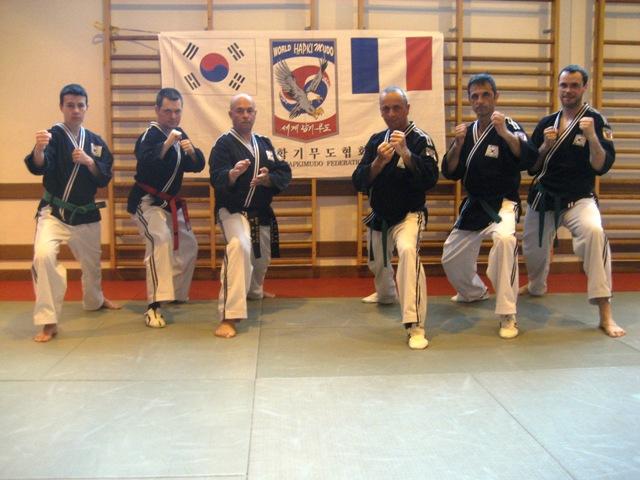 Le club de HAPKIDO de Sarreguemines - Lorraine: Dernier entraînement