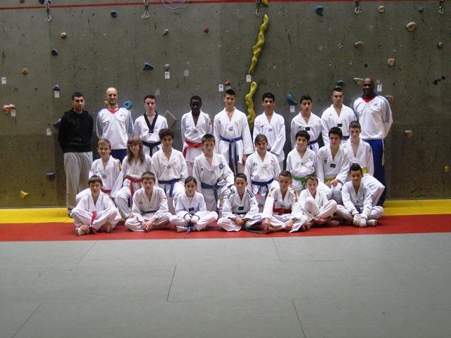 Le club de Taekwondo de Sarreguemines - Lorraine: Centre Espoir Fédéral