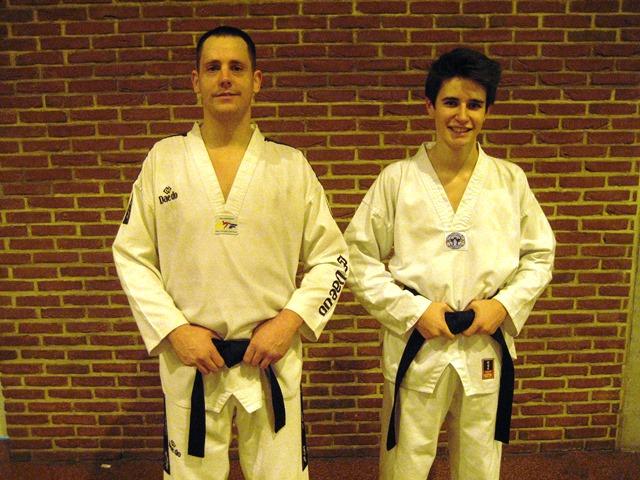 Le club de Taekwondo de Sarreguemines - Lorraine: Passage ceinture noire 1er Dan