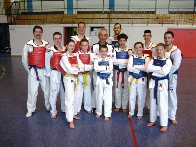 Le club de Taekwondo de Sarreguemines - Lorraine: Stage combat à Gandrange