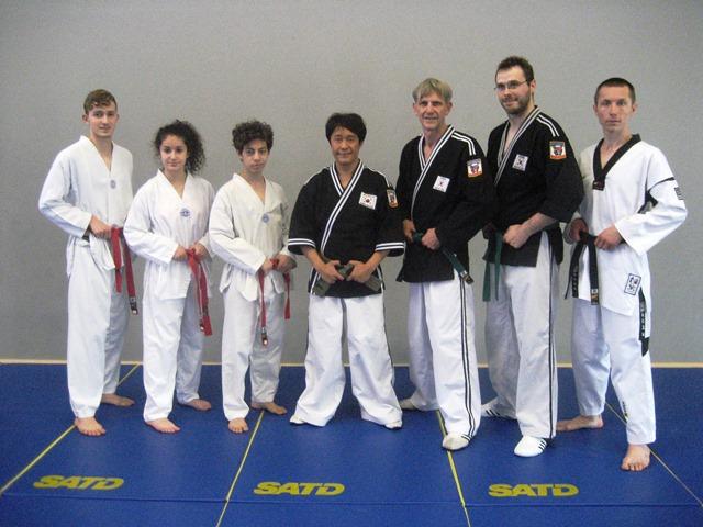 Le club de Taekwondo de Sarreguemines - Lorraine: Stage Hapkido à Strasbourg