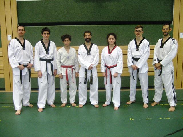 Le club de Taekwondo de Sarreguemines - Lorraine: Stage taekwondo au Luxembourg