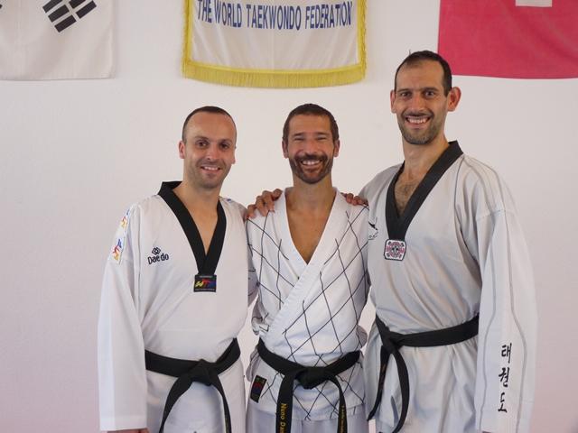 Le club de Taekwondo de Sarreguemines - Lorraine: Séminaire ceintures noires à Bâles.