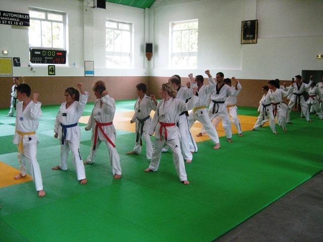 Le club de Taekwondo de Sarreguemines - Lorraine: Séminaire à Saint-Avold.
