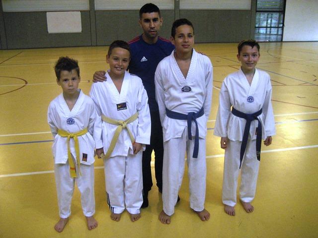 Le club de Taekwondo de Sarreguemines - Lorraine:  CFE journée sélection.
