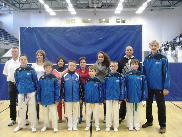 Le club de Taekwondo de Sarreguemines - Lorraine:  Open de Metz.