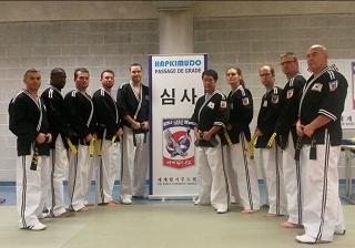Le club de Taekwondo de Sarreguemines - Lorraine:  Passage de grade Hapkido.
