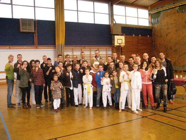 Le club de Taekwondo de Sarreguemines - Lorraine:   Noël au club.