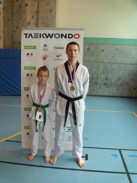 Le club de Taekwondo de Sarreguemines - Lorraine:  Coupe d'Alsace Technique