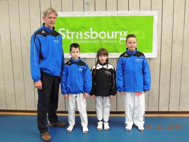 Le club de Taekwondo de Sarreguemines - Lorraine:   La coupe d'Alsace.