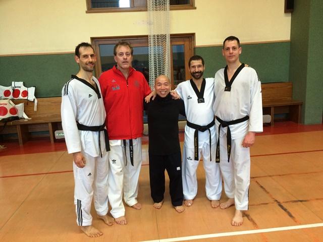 Le club de Taekwondo de Sarreguemines - Lorraine:   Séminaire WinterCamp à Harlange.