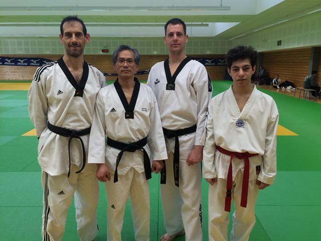 Le club de Taekwondo de Sarreguemines - Lorraine:   Stage des experts.