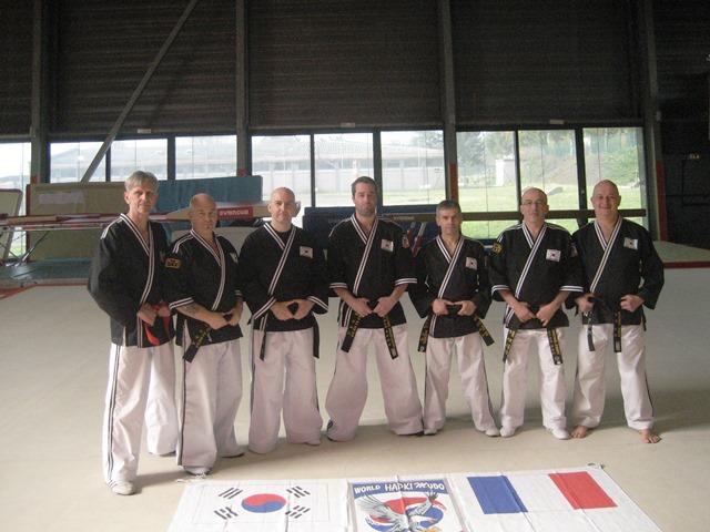 Le club de Taekwondo de Sarreguemines - Lorraine:   Passage de grade 3e keup Hapkido.