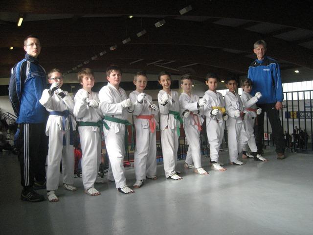 Le club de Taekwondo de Sarreguemines - Lorraine:  Coupe de Lorraine.