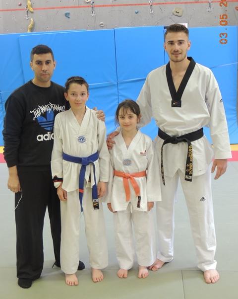Le club de Taekwondo de Sarreguemines - Lorraine:  Centre Fédéral d'Entraînement.