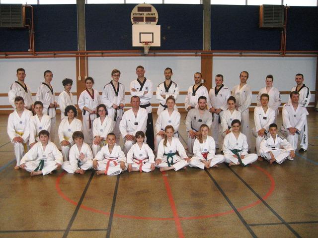 Le club de Taekwondo de Sarreguemines - Lorraine:  Stage technique à Sarreguemines.