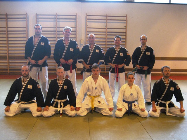 Le club de Taekwondo de Sarreguemines - Lorraine:  Entraînement Hapkido.