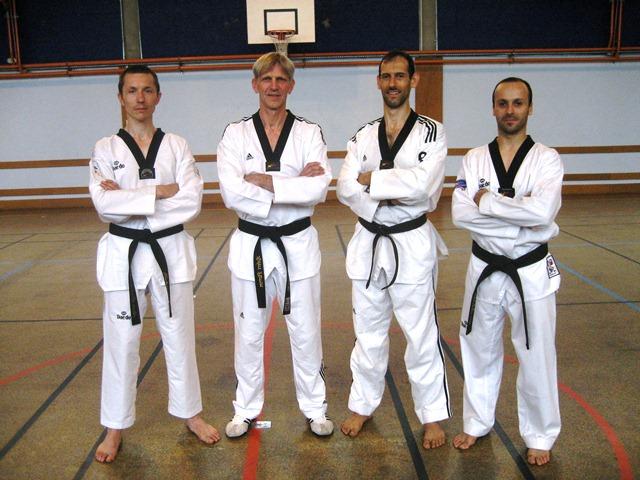 Le club de Taekwondo de Sarreguemines - Lorraine: Les enseignants