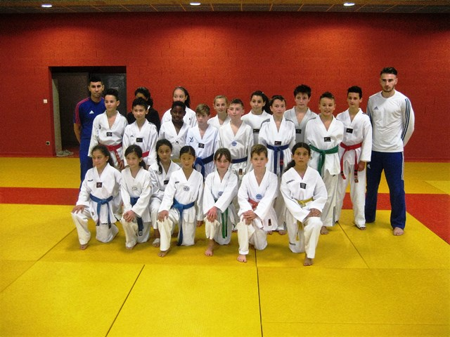 Le club de Taekwondo de Sarreguemines - Lorraine:  Sélection C.F.E..