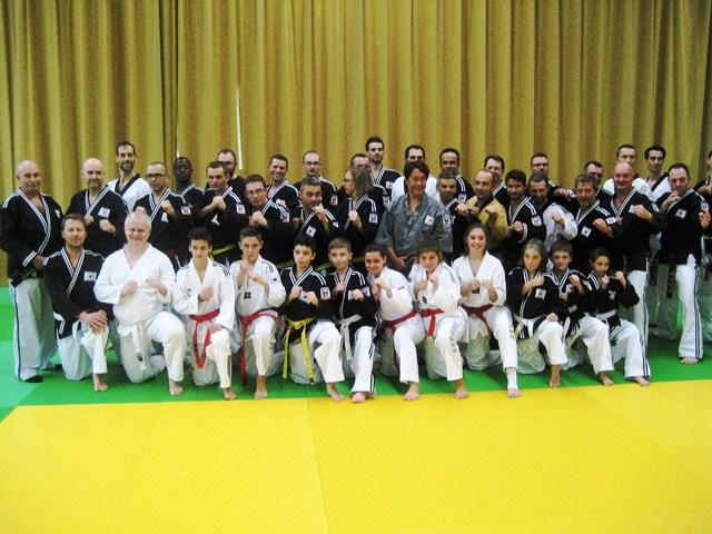 Le club de HAPKIDO de Sarreguemines - Lorraine: Séminaire de Saint-Avold.