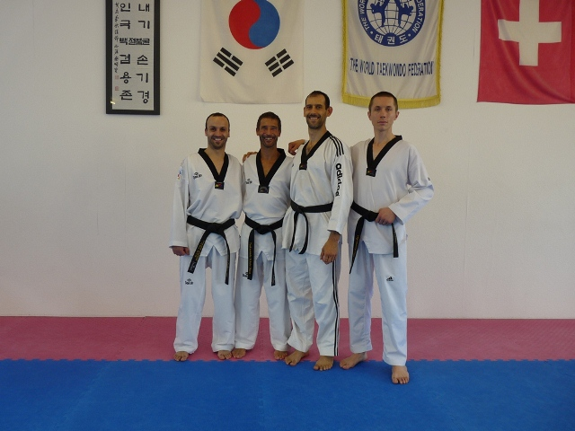 Le club de Taekwondo de Sarreguemines - Lorraine:  Séminaire à Bales (Suisse)