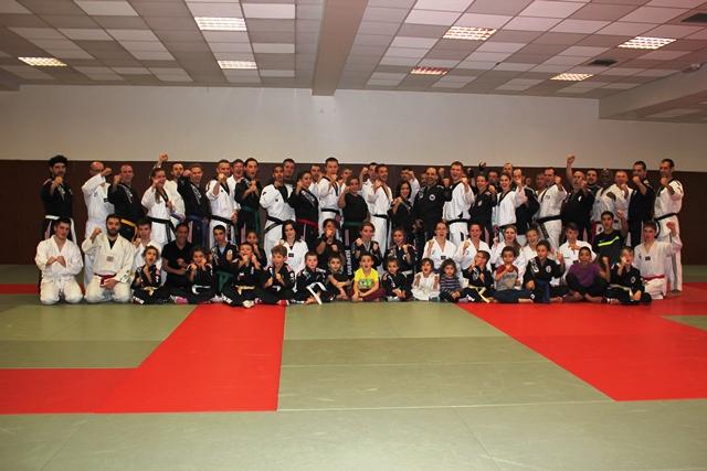 Le club de HAPKIDO de Sarreguemines - Lorraine: Stage Hapkido-Hoshinsul à Strasbourg.