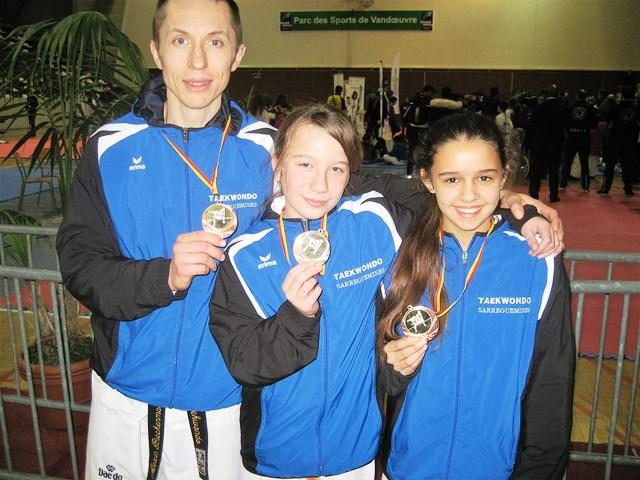 Le club de Taekwondo de Sarreguemines - Lorraine:  Open de Lorraine.
