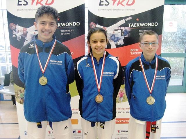 Le club de Taekwondo de Sarreguemines - Lorraine:  Coupe d'Alsace.