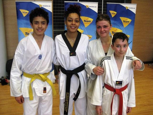 Le club de Taekwondo de Sarreguemines - Lorraine: Stage combat avec Magda Weit-Henin