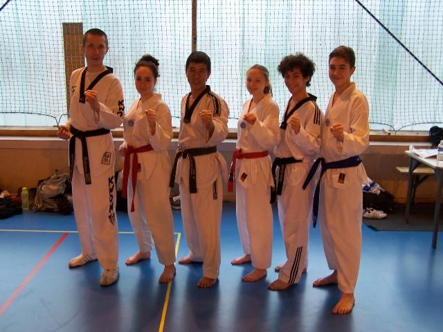 Le club de Taekwondo de Sarreguemines - Lorraine: Stage avec Maître Lee Won Sik
