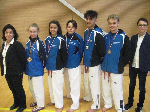 Le club de Taekwondo de Sarreguemines - Lorraine:  Championnat Régional Grand Est