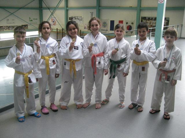 Le club de Taekwondo de Sarreguemines - Lorraine:  Critérium Enfants Grand Est