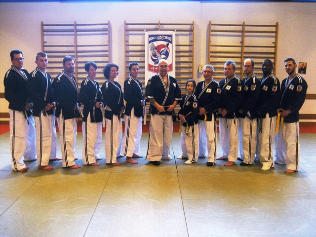 Le club de HAPKIDO de Sarreguemines - Lorraine: Passage de grade et stage à Gandrange