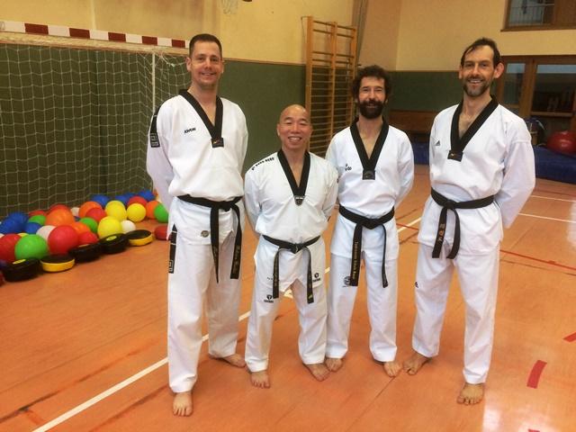 Le club de Taekwondo de Sarreguemines - Lorraine: Séminaire Winter Camp au Luxembourg