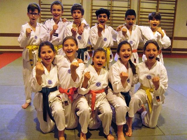 Le club de Taekwondo de Sarreguemines - Lorraine: L'entraînement technique, la salle