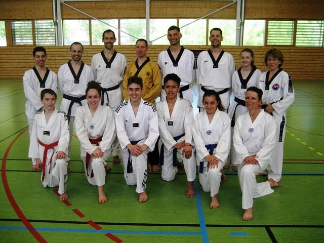 Le club de Taekwondo de Sarreguemines - Lorraine: Stage technique à Strasbourg