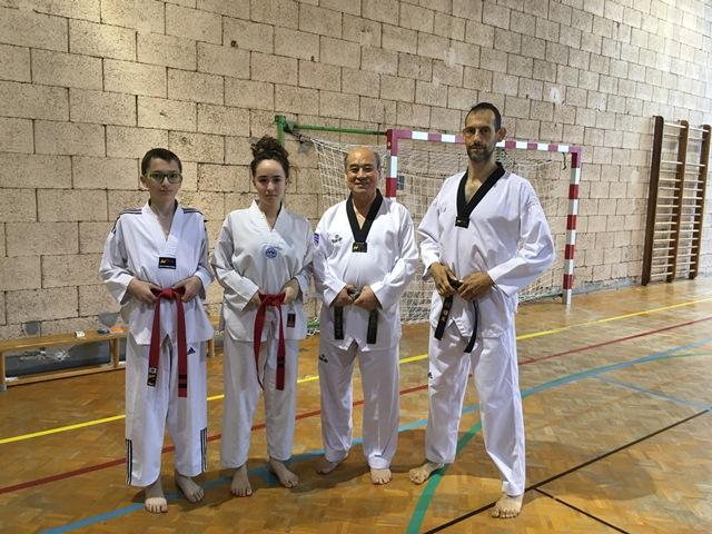 Le club de Taekwondo de Sarreguemines - Lorraine: Stage préparation CN à Strasbourg