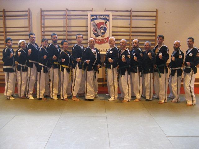 Le club de HAPKIDO de Sarreguemines - Lorraine: L'entrainement