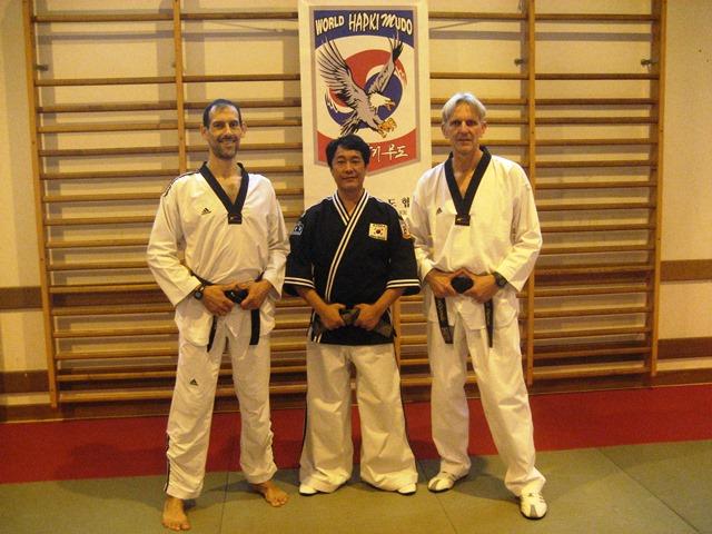 Le club de Taekwondo de Sarreguemines - Lorraine: Visite d'un Maître