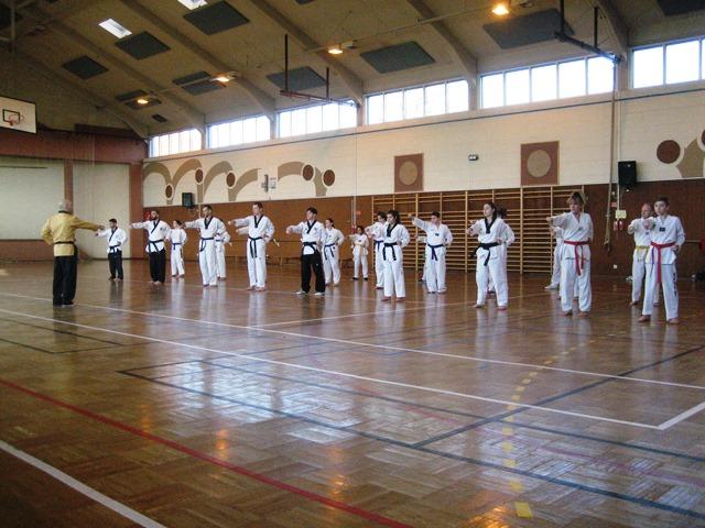 Le club de Taekwondo de Sarreguemines - Lorraine: Stage technique à Valmont