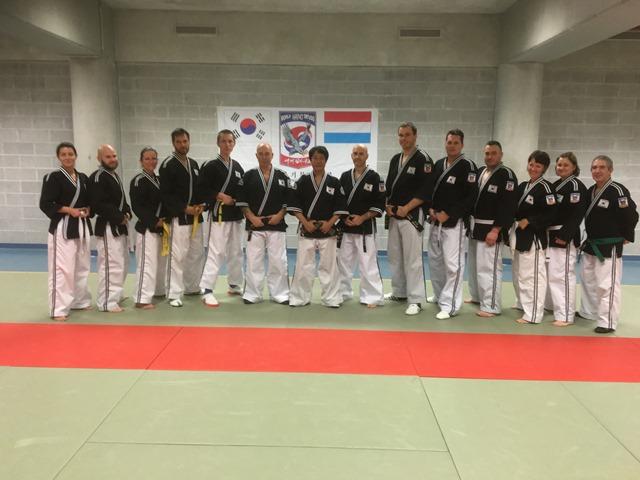 Le club de HAPKIDO de Sarreguemines - Lorraine: Entraînement avec Maître Lee Kang Jong