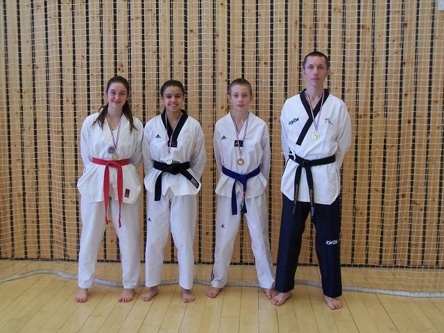 Le club de Taekwondo de Sarreguemines - Lorraine: Critérium technique de Strasbourg