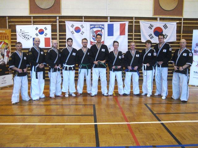 Le club de HAPKIDO de Sarreguemines - Lorraine: Passage de grade à Valmont